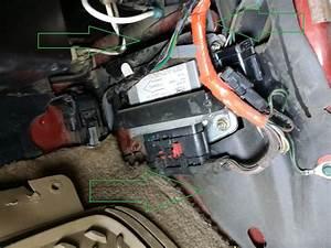 1998 2 5l Rcm - Restraint Control Module Removal