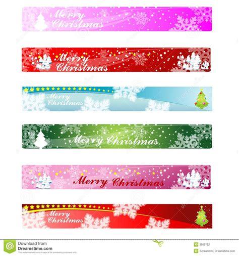christmas web banner 468 60 stock photography image 3669192