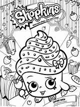 Shopkins Colorear Dibujos Faciles Cositas Entretenidas Hacer sketch template