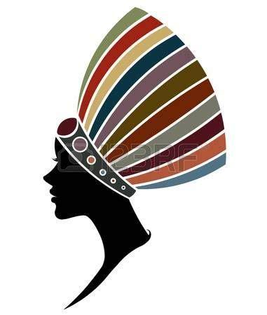 Stock Photo Arte com mulheres negras Pinturas africanas