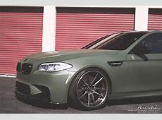 Military Grade Performance Army Green BMW M5 autoevolution