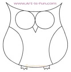Easy to Draw Owls Drawing