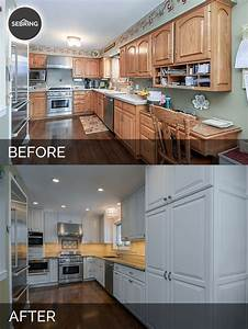 Mike & Betty's Kitchen Before & After Pictures Home