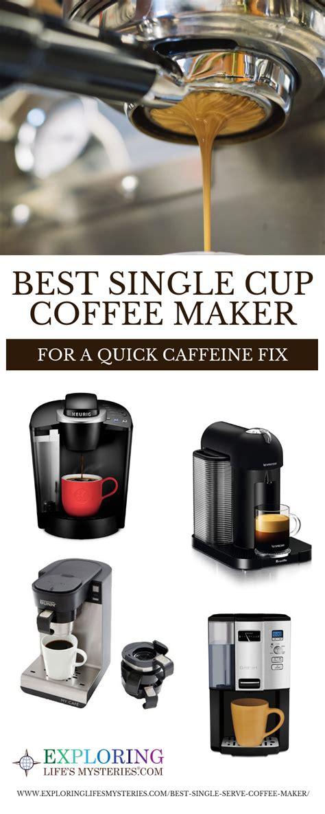 The best programmable drip coffee maker: Best Single Cup Coffee Maker: Nespresso vs Keurig vs Tassimo vs Ninja Coffee Bar vs Cuisinart ...