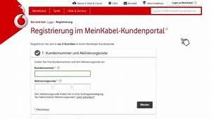 Mein Kabel Deutschland Rechnung : registrierung vodafone kabel deutschland kundenportal ~ Themetempest.com Abrechnung