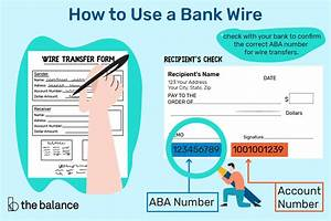 Bank Wires  How To Send Or Receive Funds