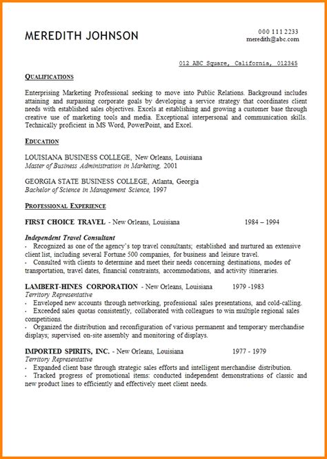 Resume Opening Statement by Resume Opening Statement Exles 20 Resume Objective