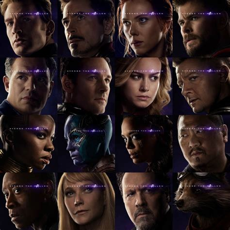 Avengers Endgame Posters Reveal Black Panther