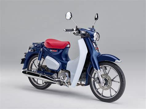 Honda Cub by Honda Unveils New Cub C125 Visordown