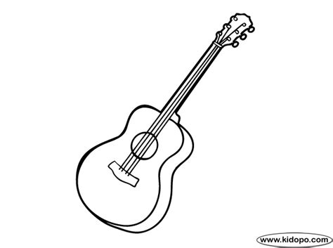 simple guitar coloring pages cooler inspiration
