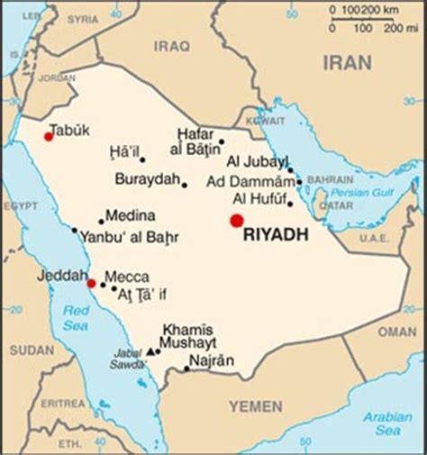 saudi arabia latitude longitude absolute  relative
