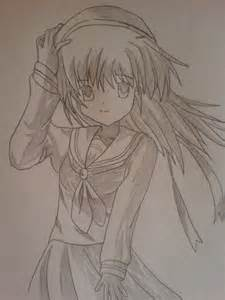 My Own Anime Character Drawings