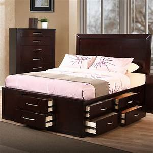 Building a king size bed with storage King size platform bed