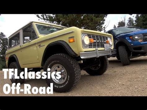 1970 Ford Bronco Yesterday's Truck With Today's Offroad
