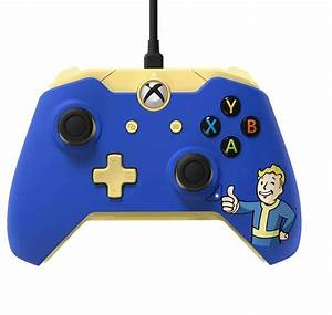 Fallout 4 Xbox One Controller Is Blue Yellow And Features