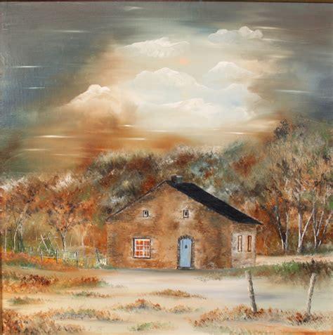 peintre paysagiste belgique province de luxembourg tableaux peinture au couteau