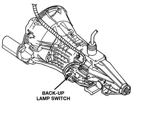 Dodge Ram Questions Where The Transmition Sensor