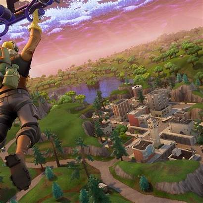 Fortnite Tilted Towers Sniper Wallpapers Royale Skin