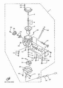 Yamaha Kodiak 400 Carburetor Diagram