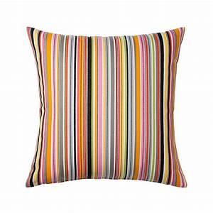 Outdoor Kissen Ikea : ikea akervallmo cushion cover pillow sham multicolor stripe 20 x 20 kervallmo patio ~ Eleganceandgraceweddings.com Haus und Dekorationen