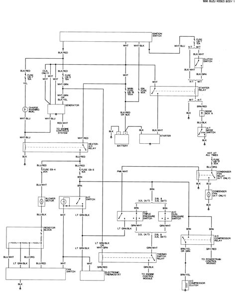 1995 Isuzu Rodeo Radio Wiring Color Diagram by Repair Guides Wiring Diagrams Wiring Diagrams
