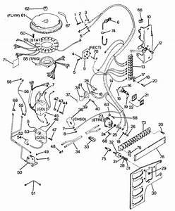Force 125 Hp  1987  Electrical Components Parts