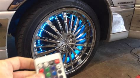 Wheel Lights by Wheel Light Kit For Sale Led Neon Rims
