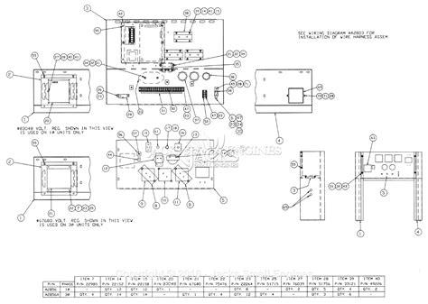 generac 00909 2 parts diagram for panel