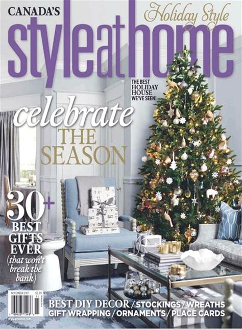 Home Magazine by Style At Home Magazine November 2013 Pdf Magazine
