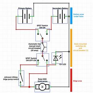 Johnson Bilge Pump Wiring Diagram With Float Switch