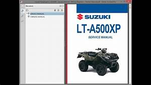 Suzuki Kingquad Lt-a500xp   Repair Manual