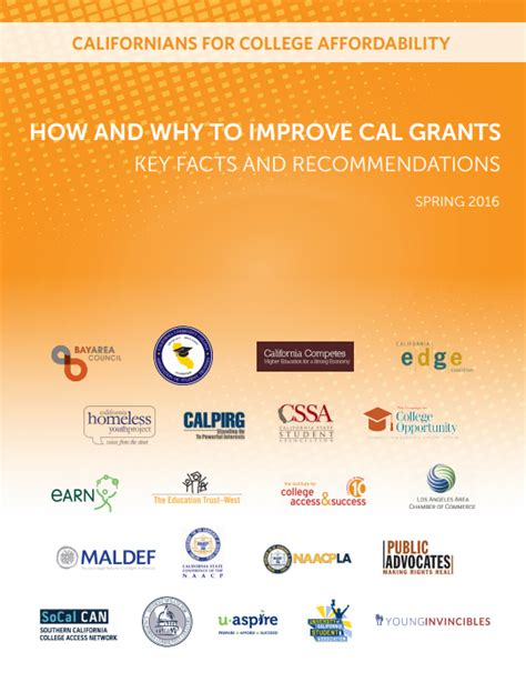 Cal Grant Income Ceiling 2016 by March 2016 How And Why To Improve Cal Grants The
