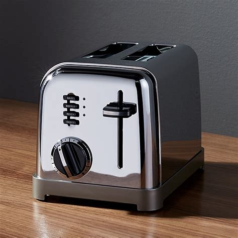 cuisinart classic  slice toaster crate  barrel