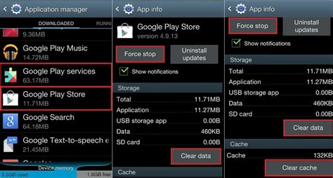 fix error 504 in android while downloading apps from