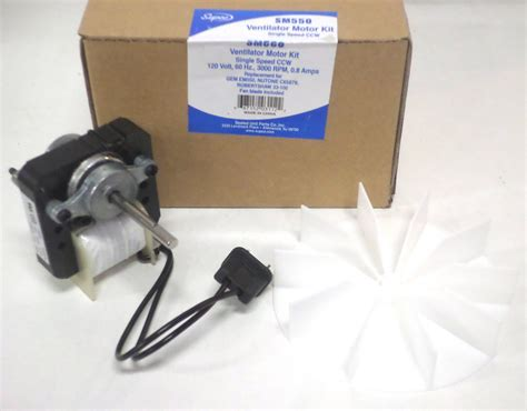 universal bathroom fan replacement electric motor 65100 universal bathroom vent fan ventilator motor 50cfm