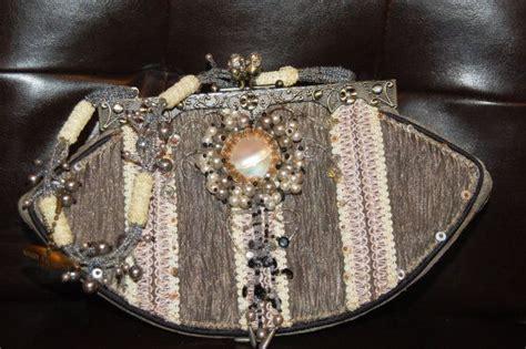 mary frances vintage evening bag  shellimcvey  etsy