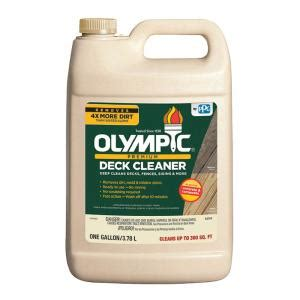 olympic  oz premium deck cleaner    home
