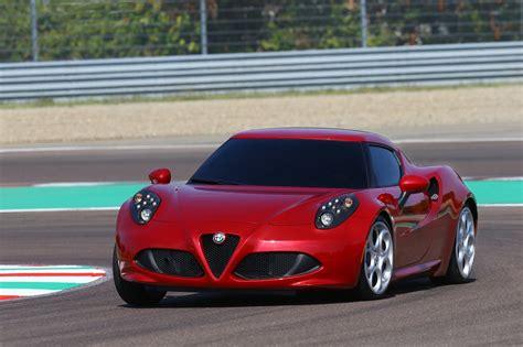 Alfa Romeo 4c Uk 2014 Red Cornering Track Speed (1280×852