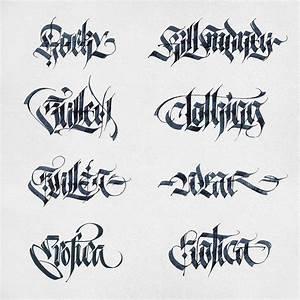 Pin by daniel gold on calligraffiti pinterest pen for Calligraphy pen letters