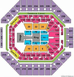 At T Center Seating Chart