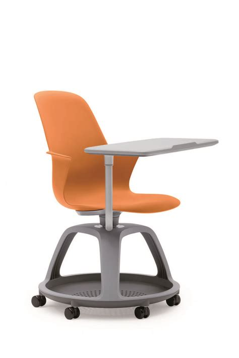 roulettes pour siege rameur fauteuil mobile node polypropylène avec tablette de