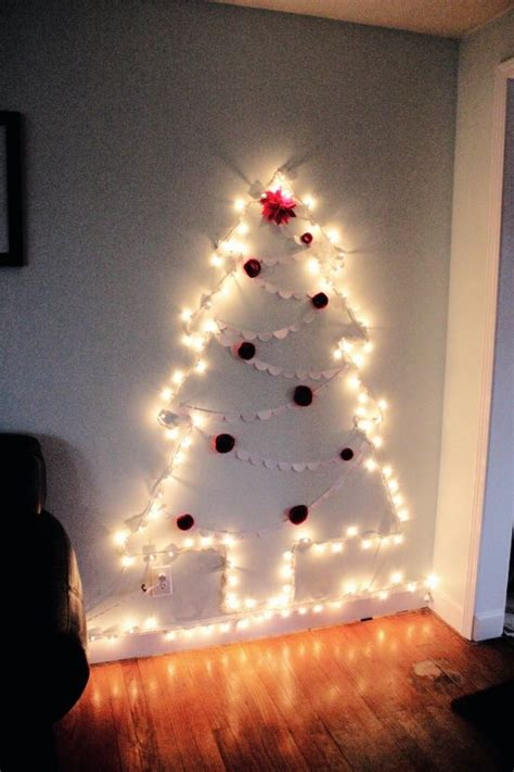 light tree on wall christmas tree of lights on the wall for autumn pinterest