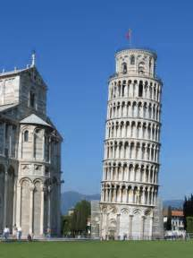 Pisa Leaning Tower of Pizza