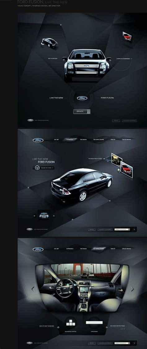 ford webdesign  web design layout userinterface