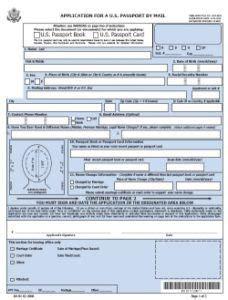 ds  application form  passport renewal travel visa pro