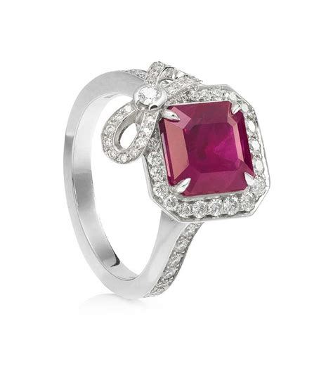 engage the the colourful appeal of ruby engagement rings the jewellery editor