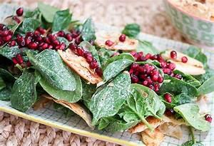 Spinat Als Salat : spinat salat mit granatapfelkernen ~ Orissabook.com Haus und Dekorationen