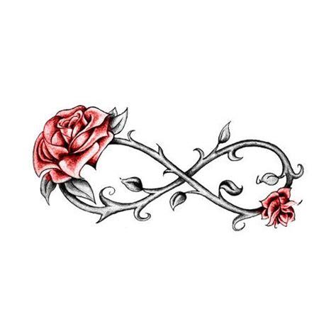 infinity symbol   rose tattoo google search