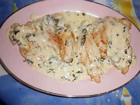 recette d escalope de dinde creme a l ail et basilic