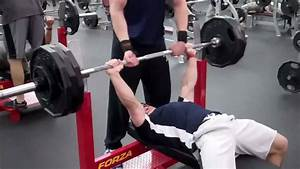 Pressing Workout  Double Bodyweight Bench Press